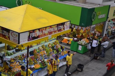 El mercado Municipal de Sao Paulo