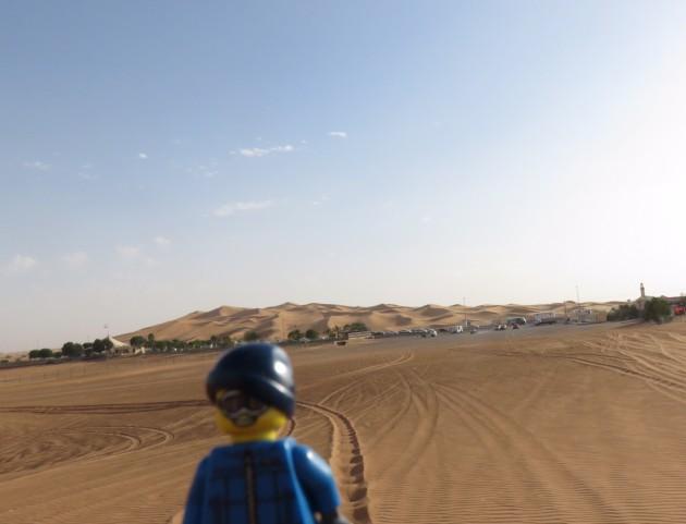 Una vista panorámica de las dunas