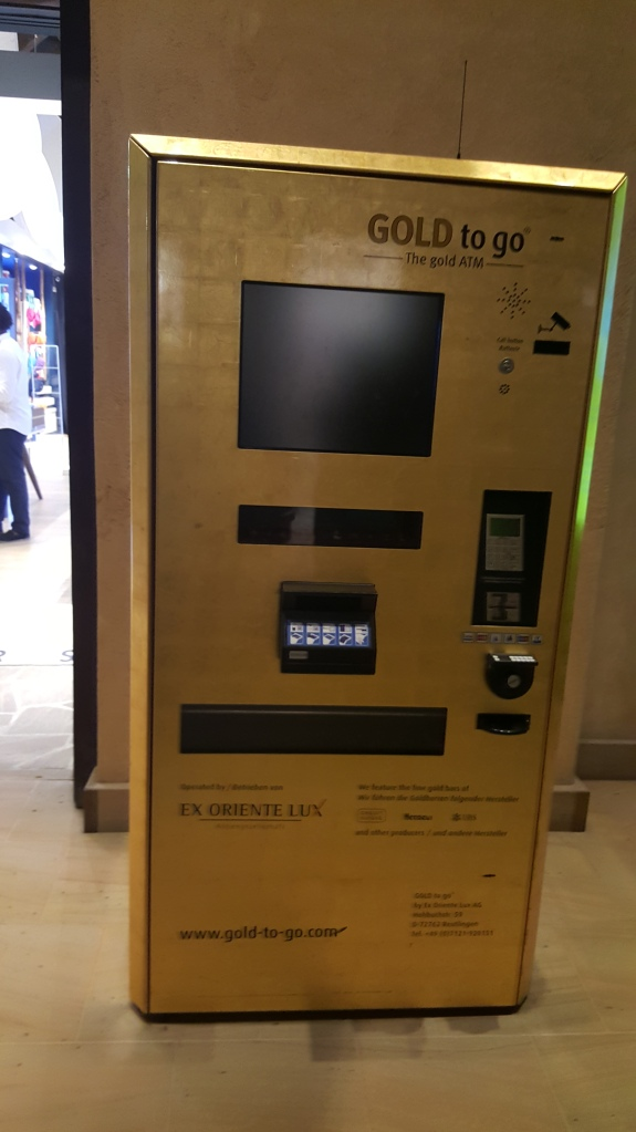 Gold Vending Machine.....creo que es demasiado