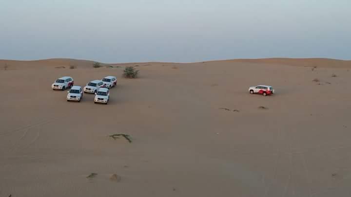 Camionetas que nos llevaron al desierto via @judylee de China