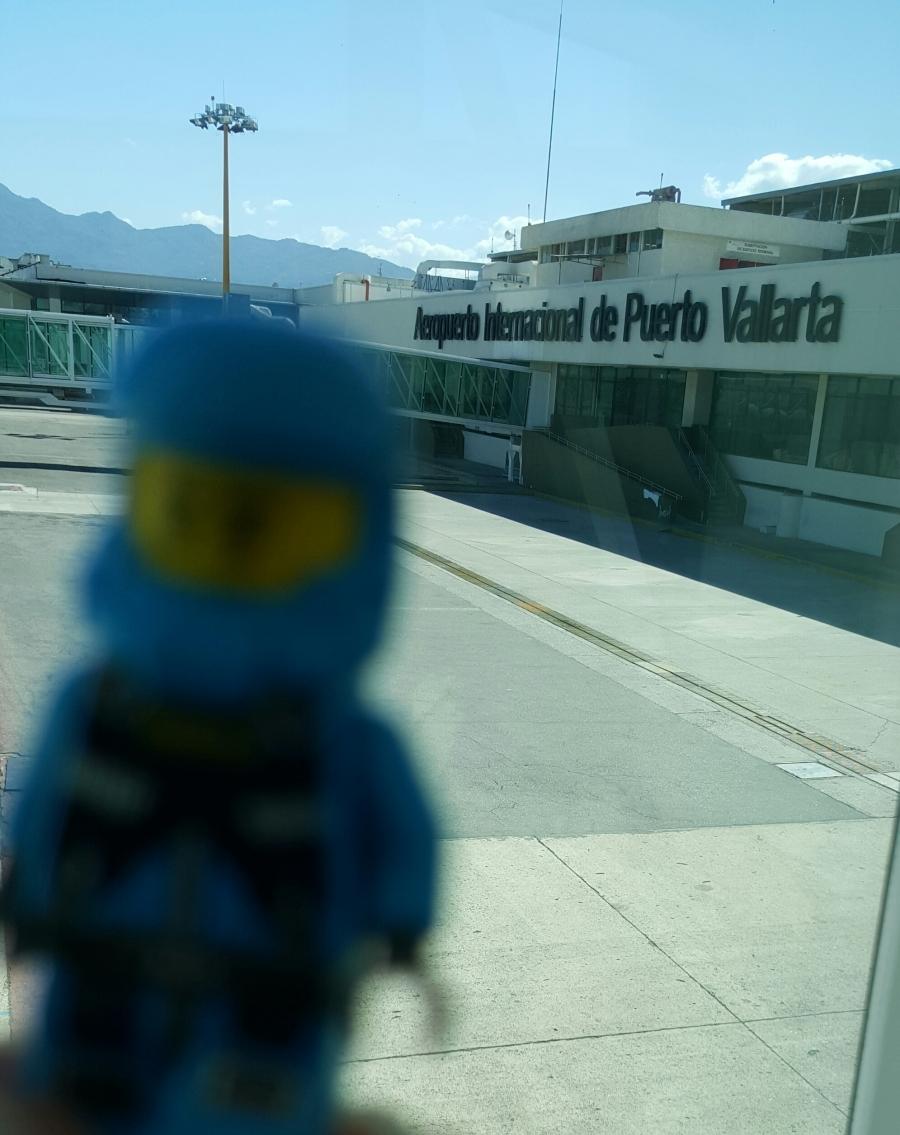 Llegando a Puerto Vallarta.....Temperatura: 28°C