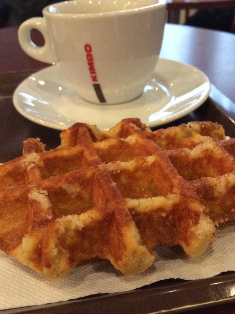 Waffles Belgas...auténticamente en Bélgica...de-li-cio-sos